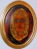 pittura medianica Cristo