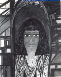 pittura medianica egizia